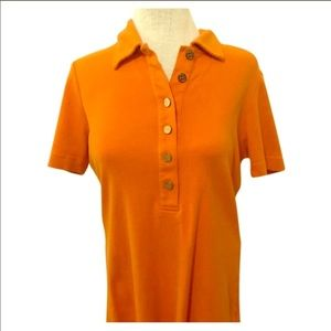 Short sleeves Tory Burch polo Shirt. Size S
